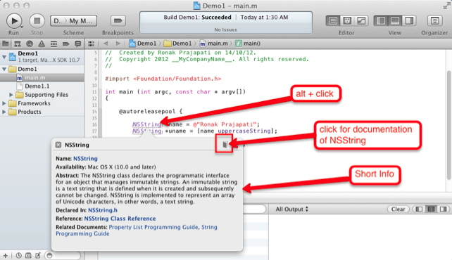 iPhone Objective-c classes