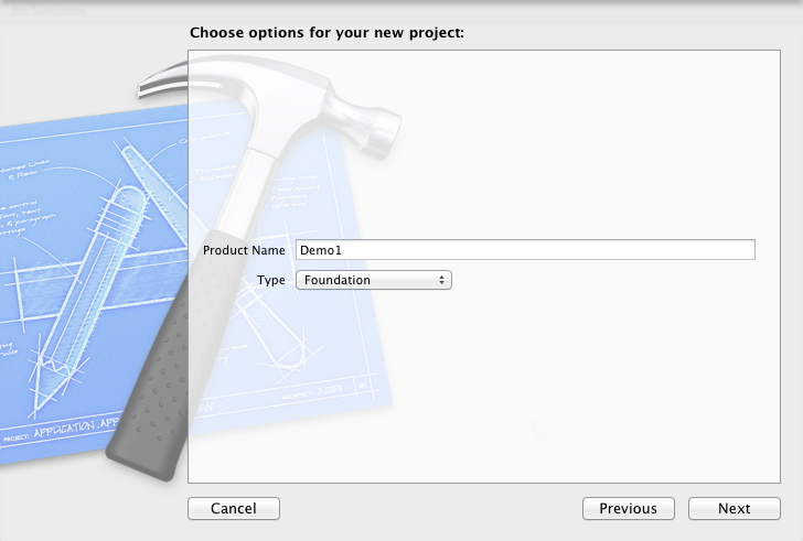 objective-c : xcode project name