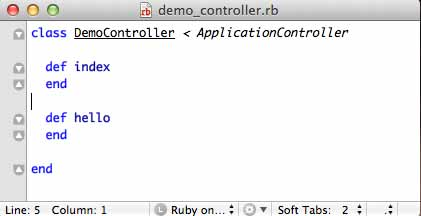 Ruby on Rails Generate Controller
