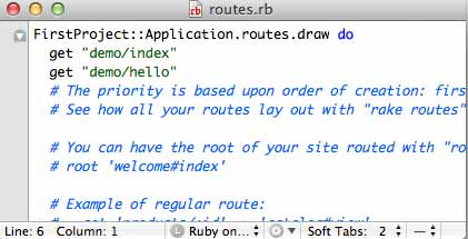 Ruby on Rails Generate Controller Routes