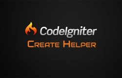 Codeigniter Create Helpers