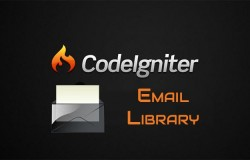 Codeigniter email library