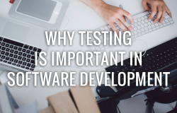 software testing is important in software development