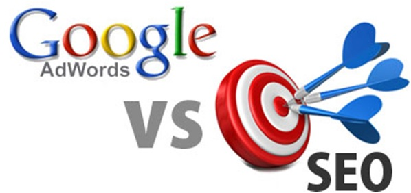 Difference between SEO and Adwords?